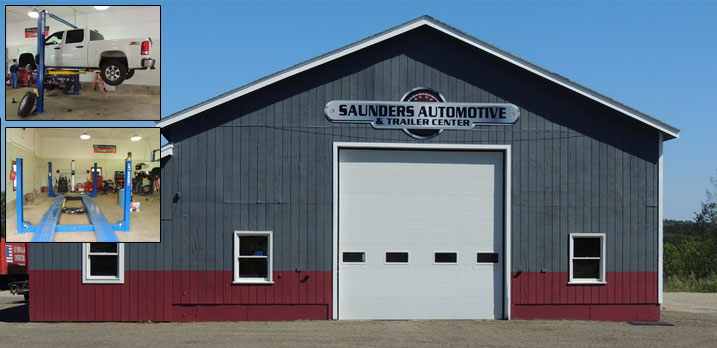 Saunders Automotive, your new home for full-service car, truck and trailer repair